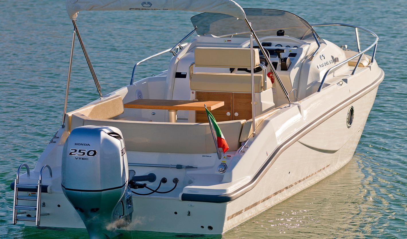 Motorkruisers en Jachten Cranchi Panama 24 foto 3