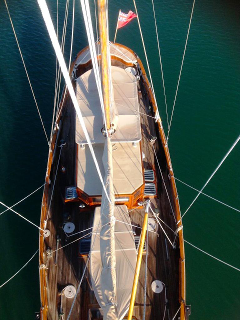 Klassieke Zeilboten St.Malo Pilot Cutter foto 9