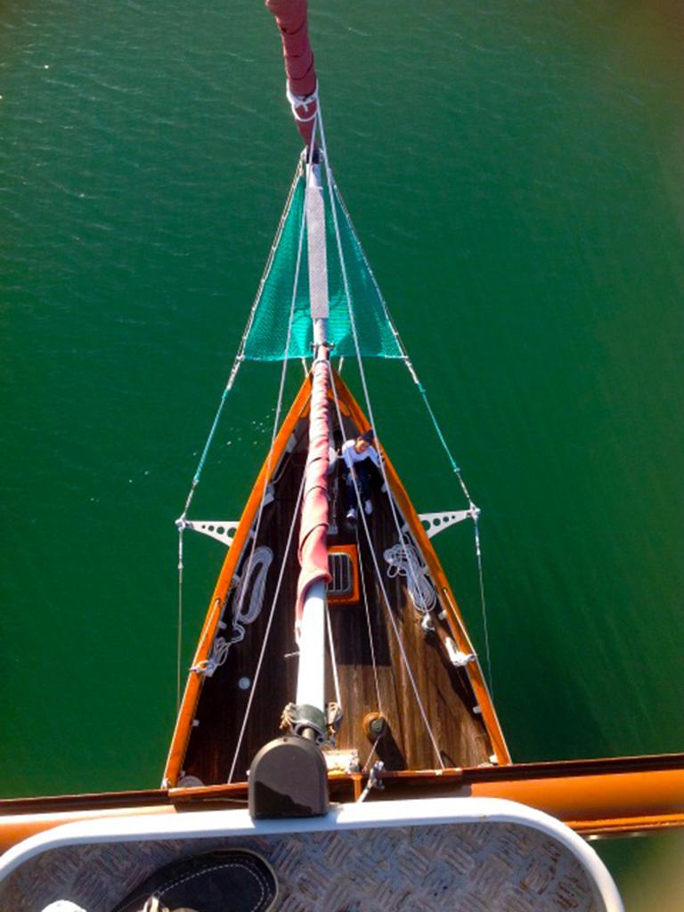 Klassieke Zeilboten St.Malo Pilot Cutter foto 5