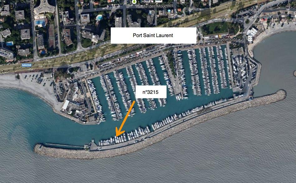 Berth Port Saint Laurent Du Var