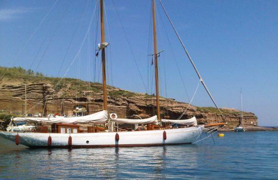 Kajuitzeilboten en Zeiljachten Staysail Schooner foto 6
