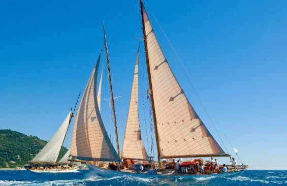 Kajuitzeilboten en Zeiljachten Staysail Schooner foto 8