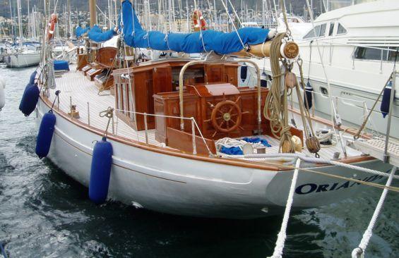 Kajuitzeilboten en Zeiljachten Staysail Schooner foto 3