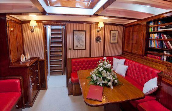 Kajuitzeilboten en Zeiljachten Staysail Schooner foto 2