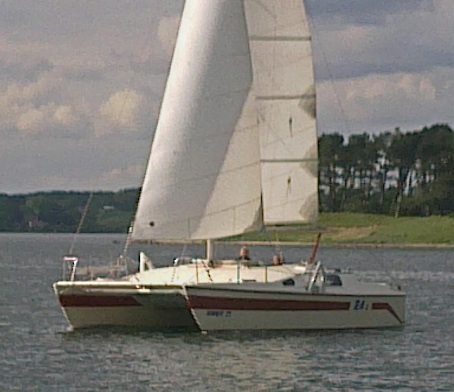 Lars Oudrup Catamaran Havkat 27 Rc
