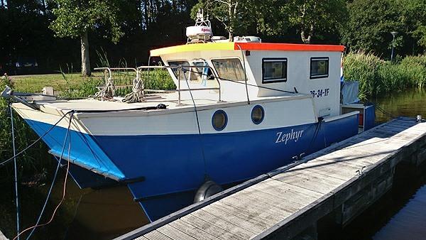 Wavepiercer Catamaran Zephyr