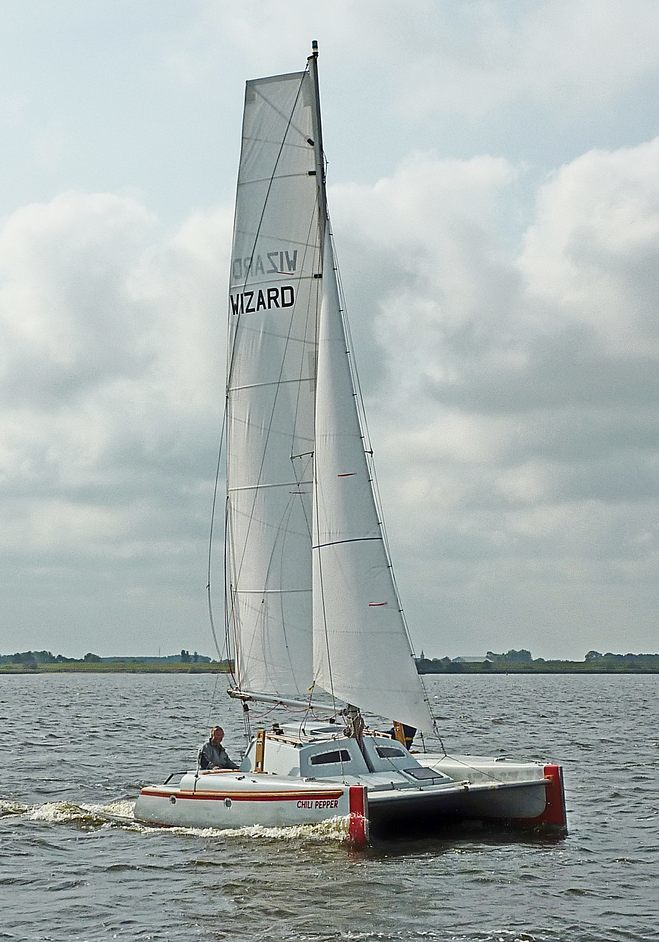 Woods Catamarans Wizard