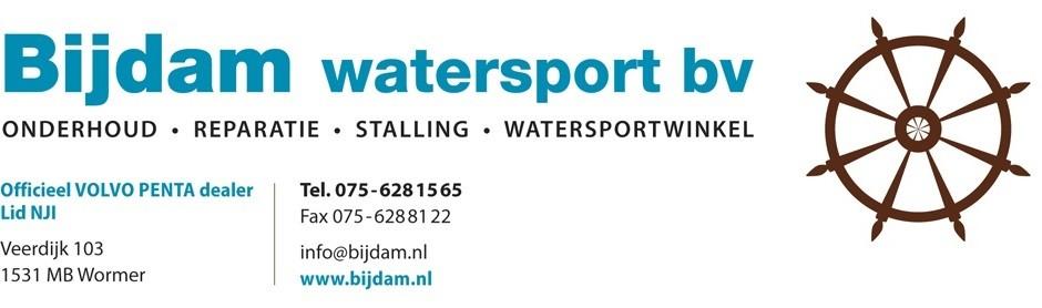 Logo - Bijdam Watersport BV