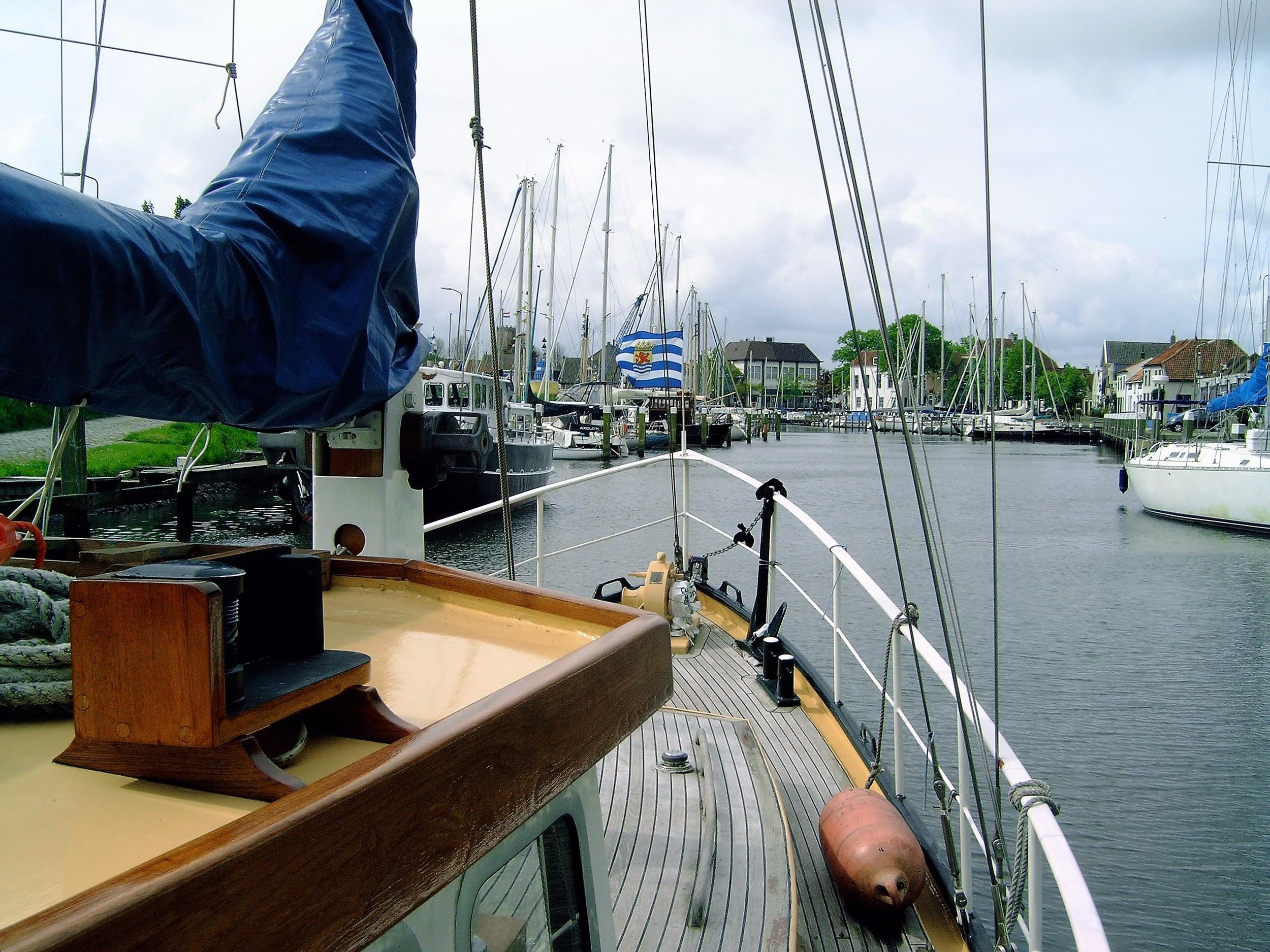 Kajuitzeilboten en Zeiljachten Super Scheldeschouw Met Campagnedek foto 8