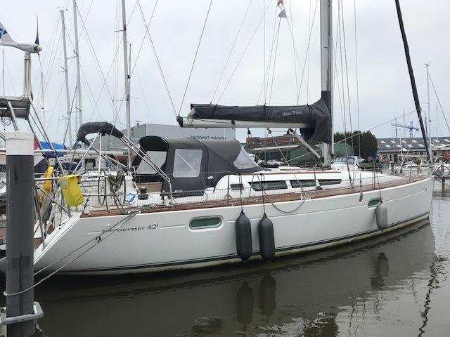 Kajuitzeilboten en Zeiljachten Jeanneau Sun Odyssey 42i foto 3