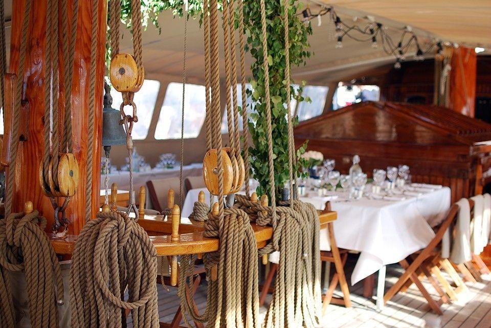 Kajuitzeilboten en Zeiljachten Topsail Schooner foto 4