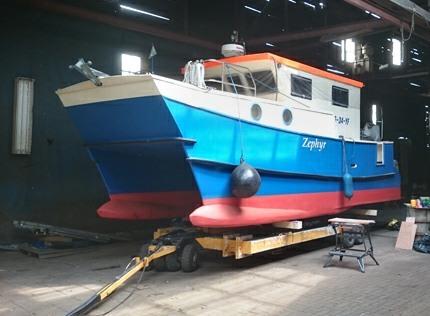 Motorkruisers en Jachten Wavepiercer Catamaran Zephyr foto 2