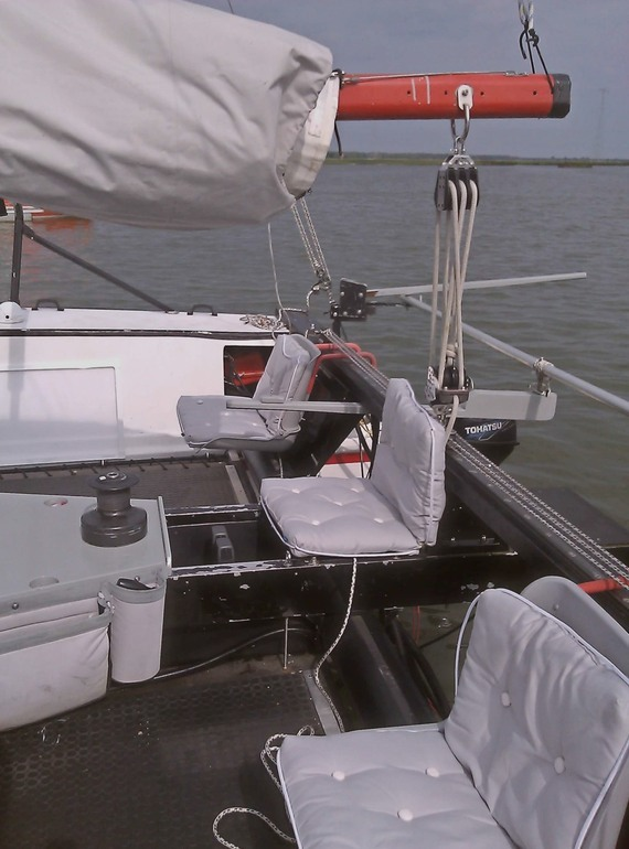 Kajuitzeilboten en Zeiljachten McGregor 36' Trailerbare Catamaran foto 4
