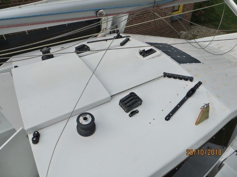 Kajuitzeilboten en Zeiljachten Trailerbare Trimaran Scarab 650 Sport foto 7