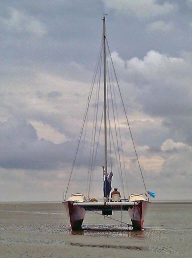 Kajuitzeilboten en Zeiljachten Wadden Catamaran Wadvogel 33 foto 5