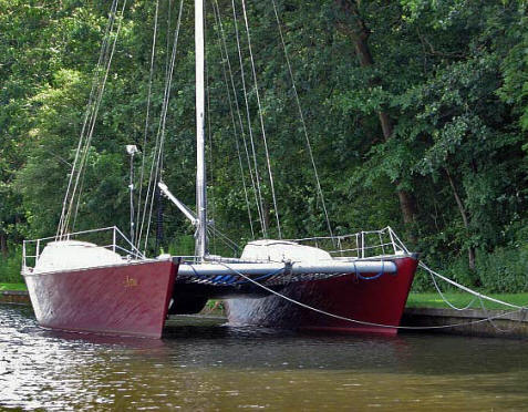 Kajuitzeilboten en Zeiljachten Wadden Catamaran Wadvogel 33 foto 10