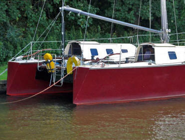 Kajuitzeilboten en Zeiljachten Wadden Catamaran Wadvogel 33 foto 6