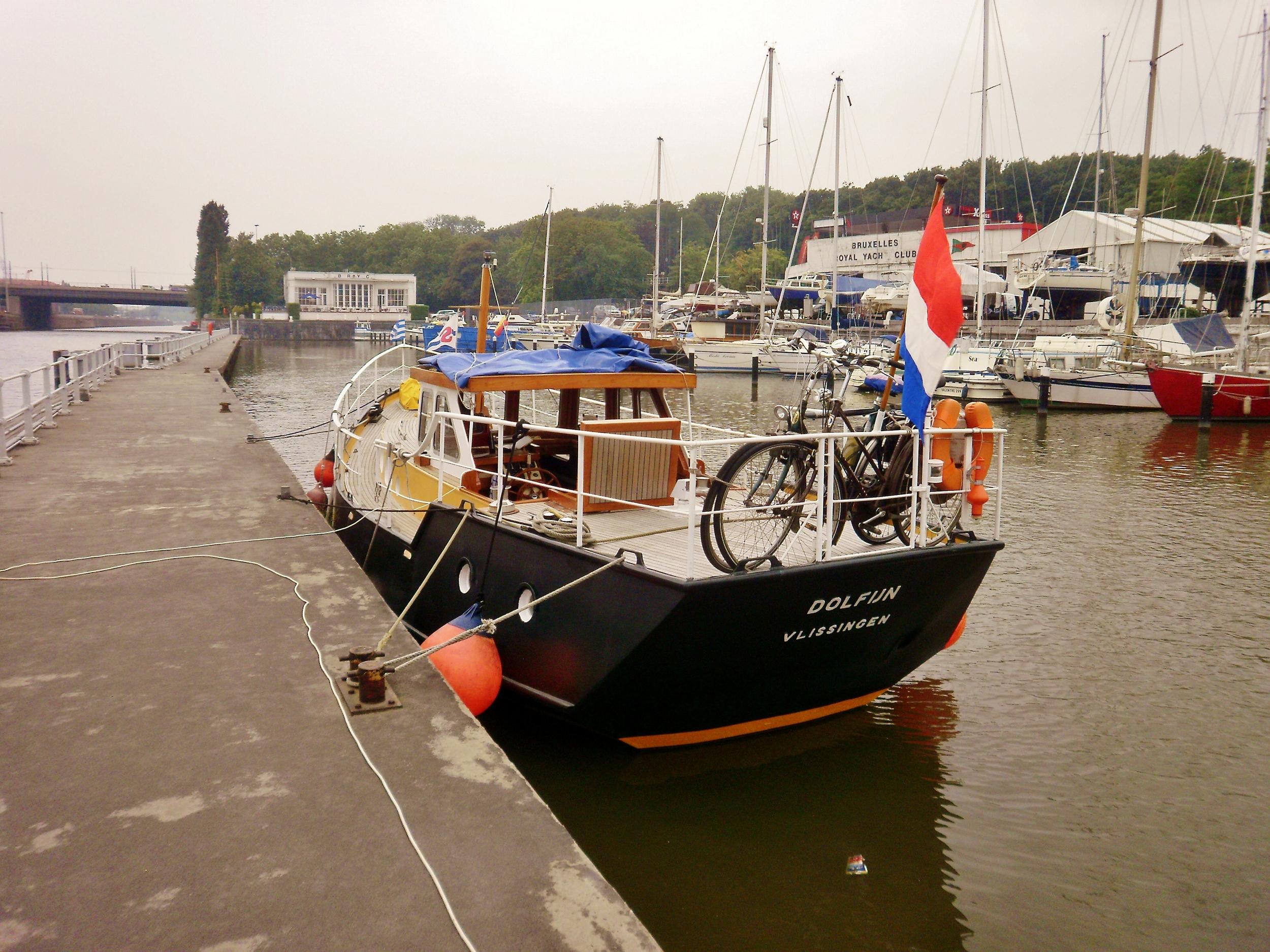 Kajuitzeilboten en Zeiljachten Super Scheldeschouw Met Campagnedek foto 4