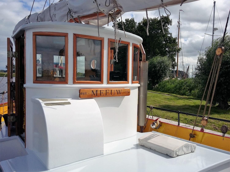 Kajuitzeilboten en Zeiljachten Zeilkotter Ex-vissersboot foto 9