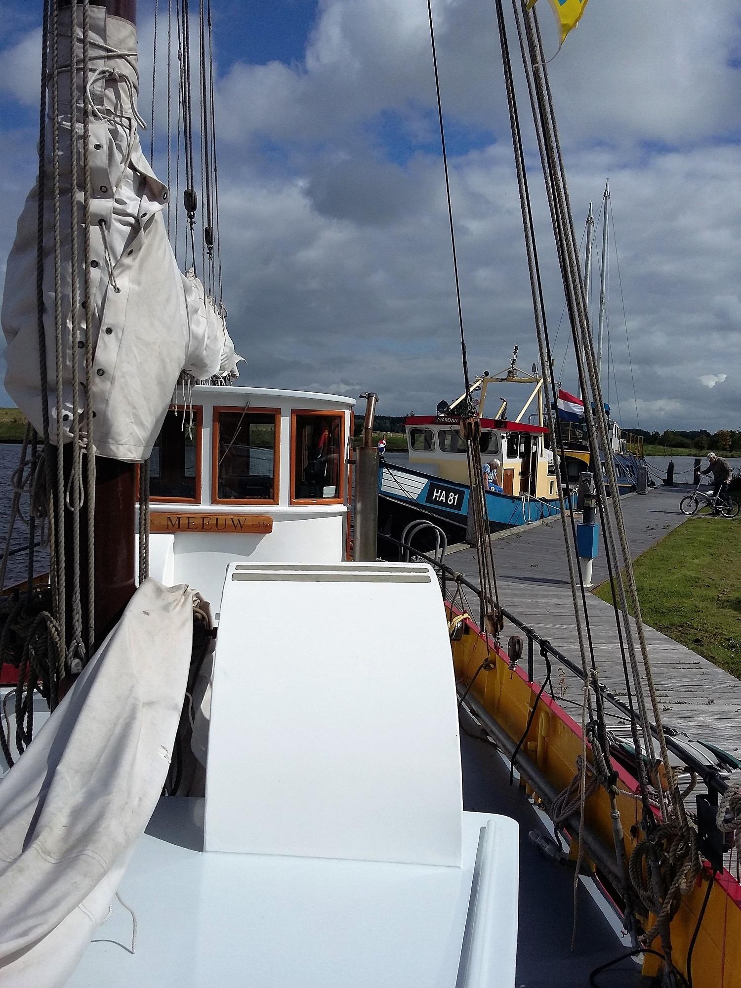 Kajuitzeilboten en Zeiljachten Zeilkotter Ex-vissersboot foto 10