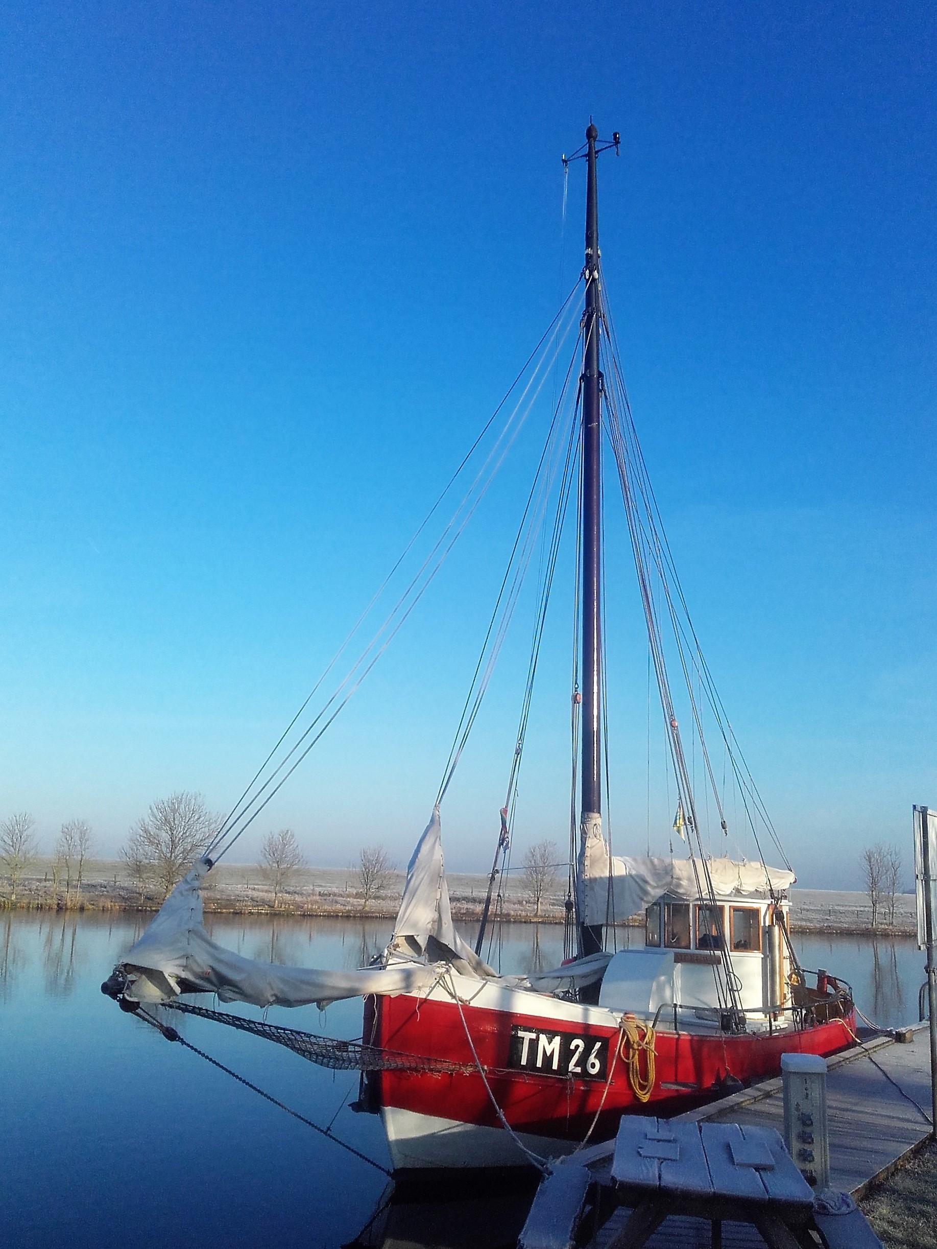 Kajuitzeilboten en Zeiljachten Zeilkotter Ex-vissersboot foto 6