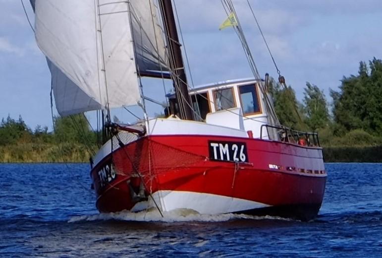 Kajuitzeilboten en Zeiljachten Zeilkotter Ex-vissersboot foto 4