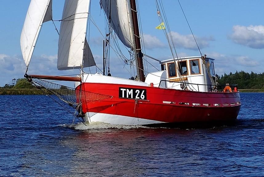 Kajuitzeilboten en Zeiljachten Zeilkotter Ex-vissersboot foto 3