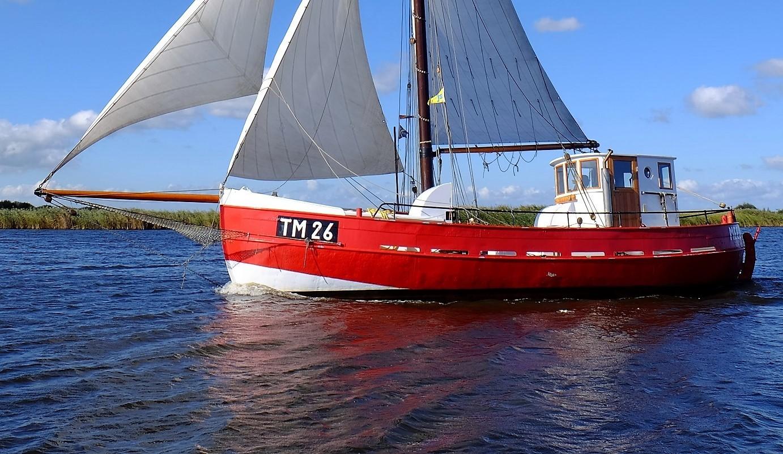 Kajuitzeilboten en Zeiljachten Zeilkotter Ex-vissersboot foto 2