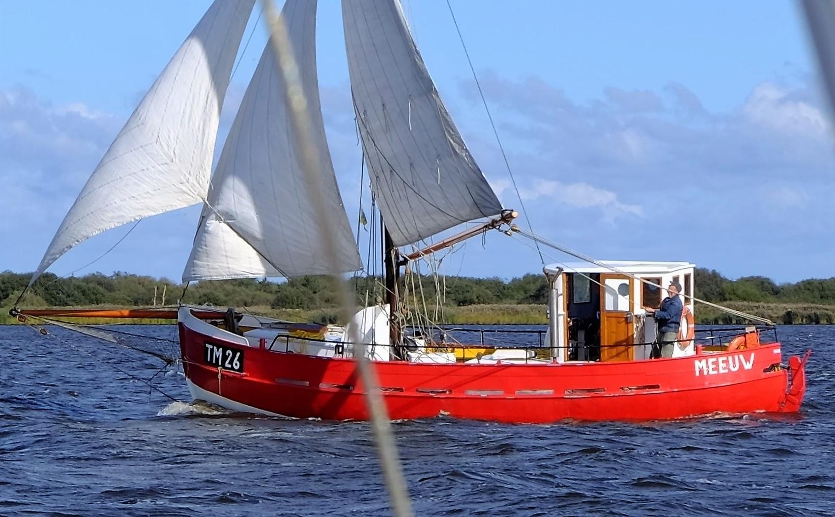 Zeilkotter Ex-vissersboot