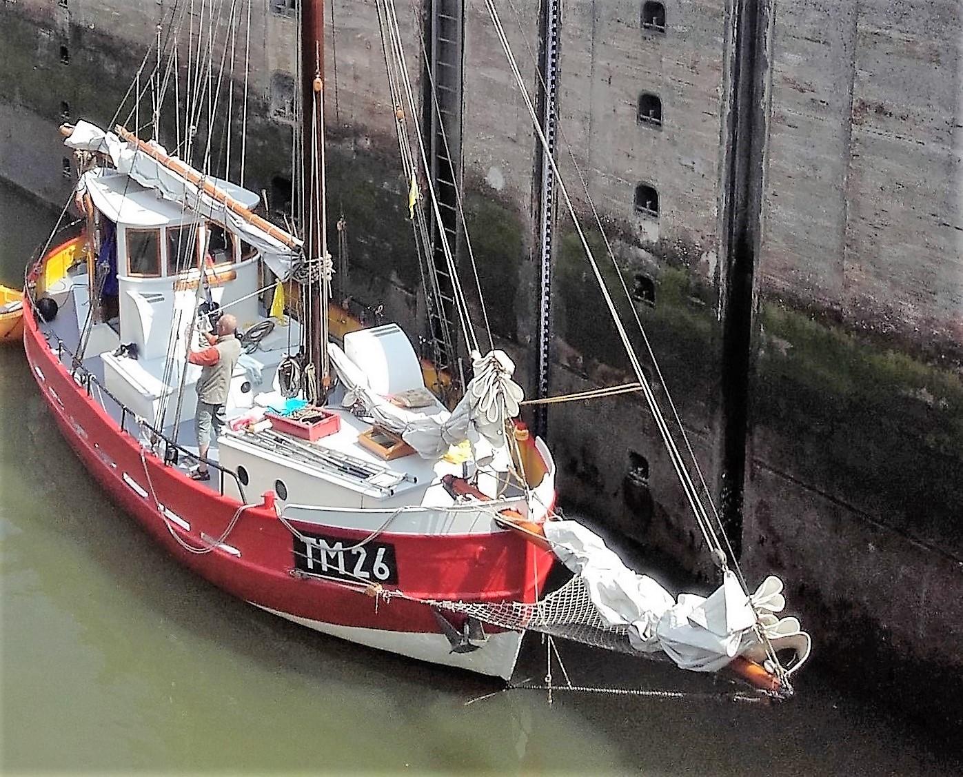 Kajuitzeilboten en Zeiljachten Zeilkotter Ex-vissersboot foto 5
