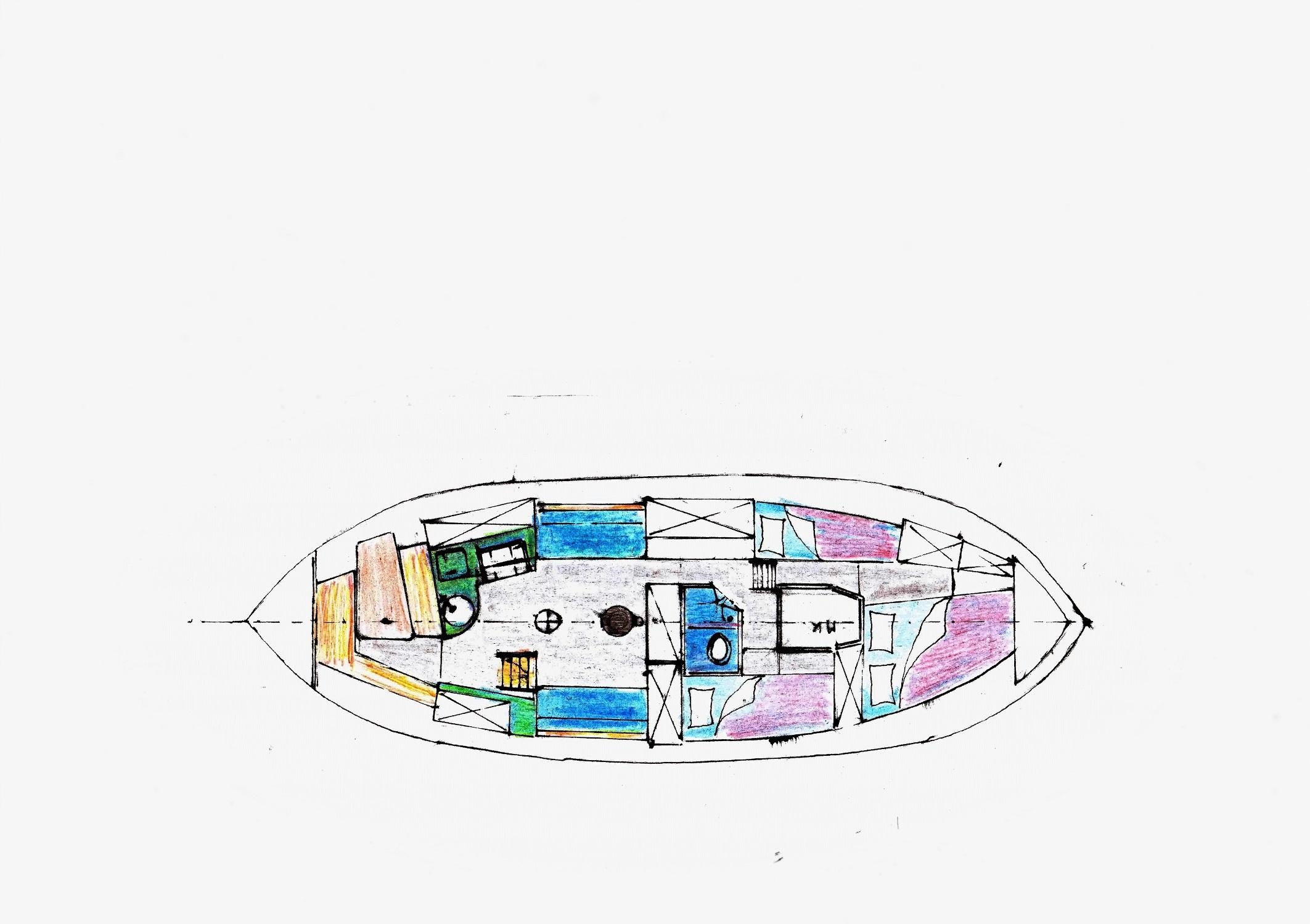 Kajuitzeilboten en Zeiljachten Zeilkotter Ex-vissersboot foto 8